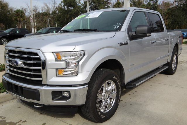 2016 F-150 SuperCrew Cab 4x4,  Pickup #C98897F - photo 4