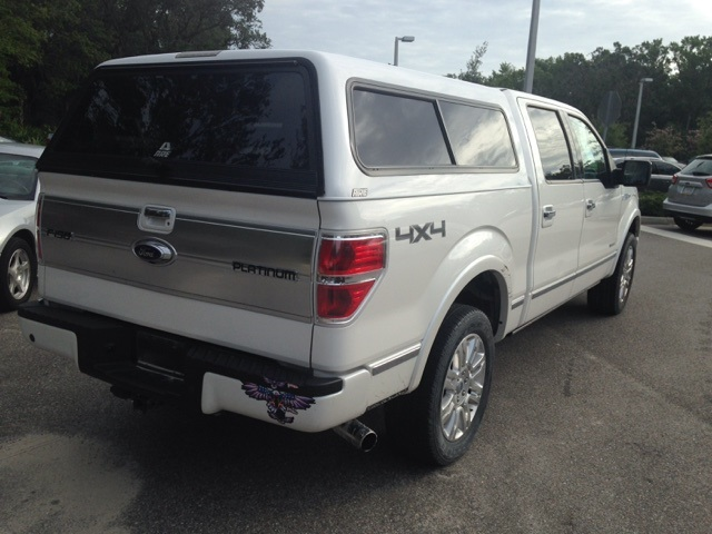 2013 F-150 SuperCrew Cab 4x4, Pickup #D92721 - photo 2
