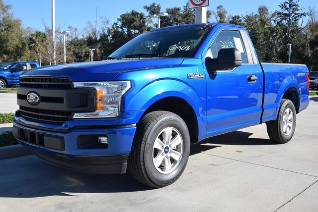 2018 F-150 Regular Cab 4x2,  Pickup #FF99920 - photo 4