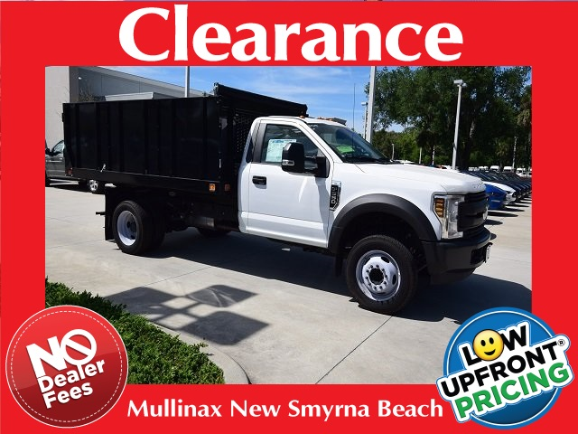 2018 F-550 Regular Cab DRW 4x2,  Cab Chassis #HA01145 - photo 1