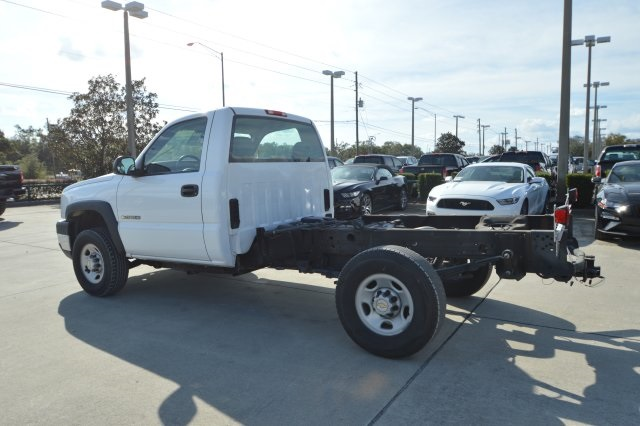 2007 Silverado 2500 Regular Cab 4x4 Cab Chassis #127458C - photo 5