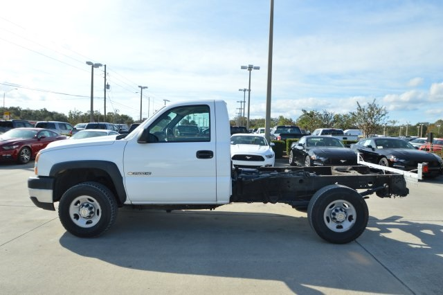 2007 Silverado 2500 Regular Cab 4x4 Cab Chassis #127458C - photo 6