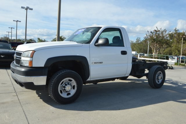 2007 Silverado 2500 Regular Cab 4x4 Cab Chassis #127458C - photo 7