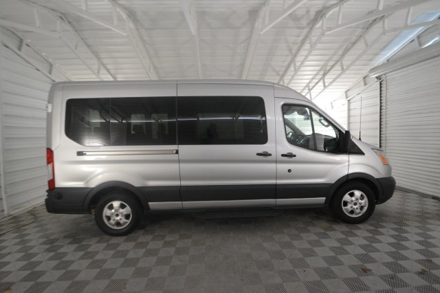 2018 Transit 350 Med Roof 4x2,  Passenger Wagon #A24291F - photo 3