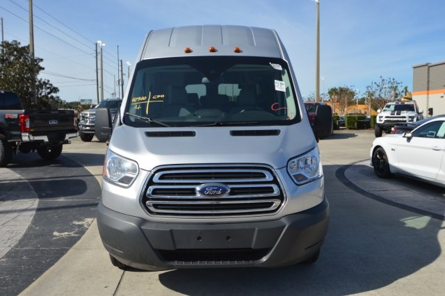 2018 Transit 350 HD High Roof DRW 4x2,  Passenger Wagon #A57602F - photo 13