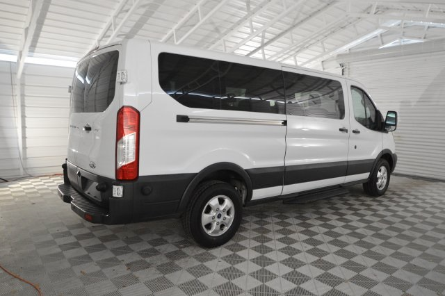2017 Transit 350 Low Roof 4x2,  Passenger Wagon #A68698F - photo 2