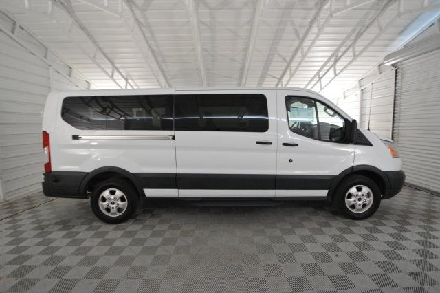 2017 Transit 350 Low Roof 4x2,  Passenger Wagon #A73931F - photo 3