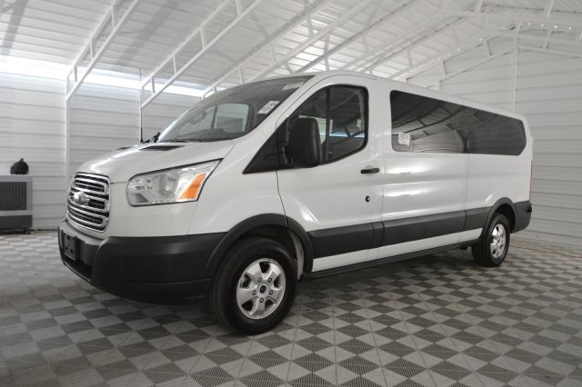 2017 Transit 350 Low Roof 4x2,  Passenger Wagon #A73931F - photo 7