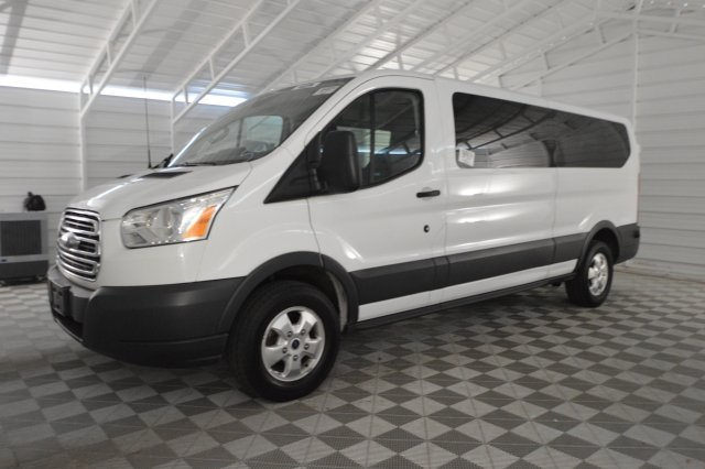 2017 Transit 350 Low Roof 4x2,  Passenger Wagon #A76818F - photo 11