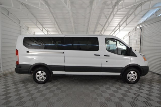 2017 Transit 350 Low Roof 4x2,  Passenger Wagon #A76818F - photo 3