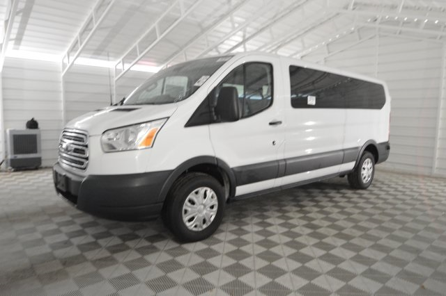 2017 Transit 350 Low Roof 4x2,  Passenger Wagon #B05096F - photo 7