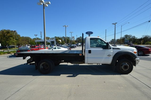 2013 F-550 Regular Cab DRW, Platform Body #B10497 - photo 4