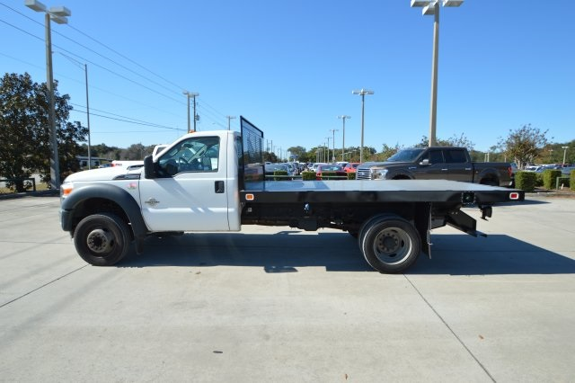2013 F-550 Regular Cab DRW, Platform Body #B10497 - photo 10