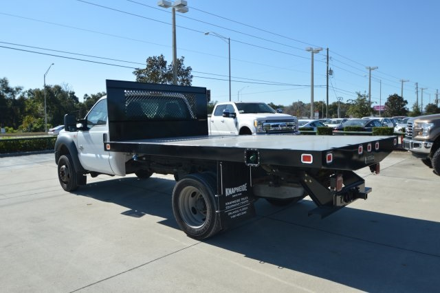 2013 F-550 Regular Cab DRW, Platform Body #B10497 - photo 5