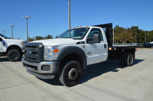 2013 F-550 Regular Cab DRW, Platform Body #B10497 - photo 9