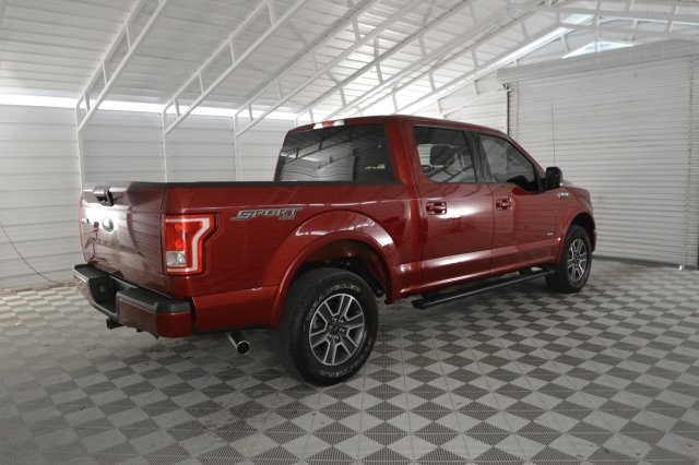 2016 F-150 SuperCrew Cab 4x4,  Pickup #C68239M - photo 2