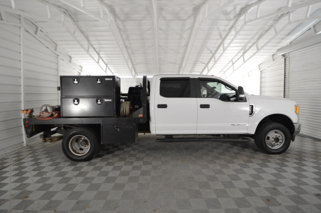 2017 F-350 Crew Cab DRW 4x4,  Platform Body #C68276F - photo 4