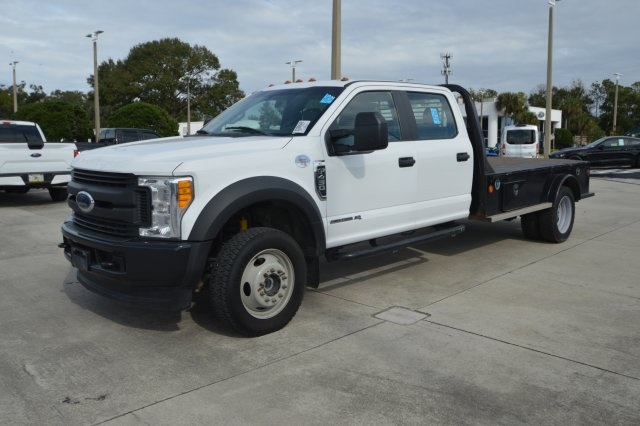 2017 F-450 Crew Cab DRW 4x4,  Platform Body #D43354F - photo 10