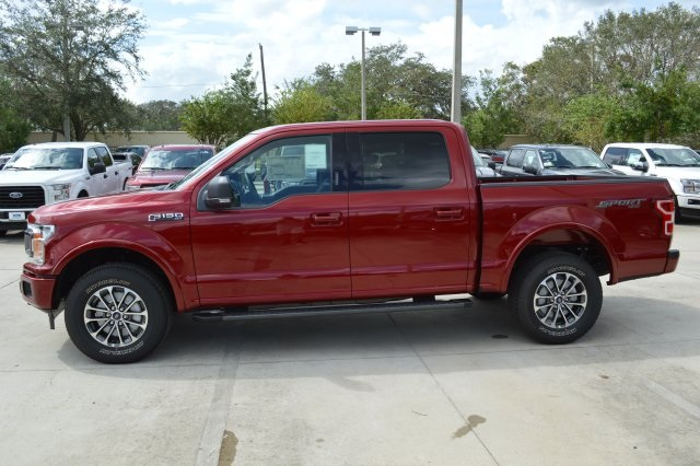 2018 F-150 Crew Cab 4x4 Pickup #FC19250 - photo 4
