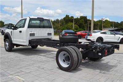 2017 F-550 Regular Cab DRW 4x4, Cab Chassis #HB23333 - photo 5