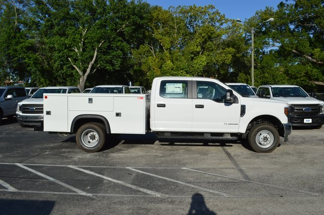 2018 F-350 Crew Cab DRW 4x4, Monroe Service Body #HB75059 - photo 2