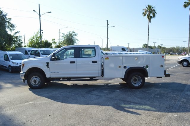 2018 F-350 Crew Cab DRW 4x4, Monroe Service Body #HB75059 - photo 4