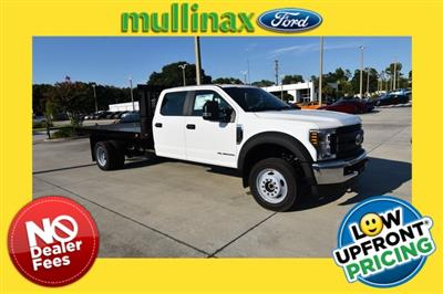 2019 F-550 Crew Cab DRW 4x4, Knapheide Value-Master X Platform Body #HF24795 - photo 1