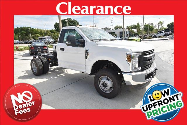 2019 Ford F-350 Regular Cab DRW 4x4, Cab Chassis #HG66349 - photo 1