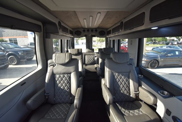 2018 Transit 250 Med Roof 4x2,  Passenger Wagon #RA38287 - photo 12
