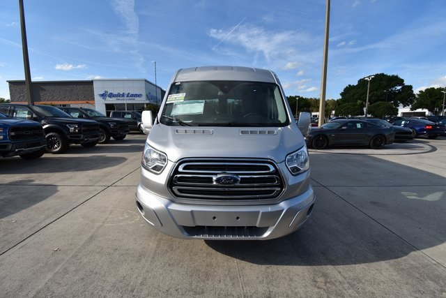 2018 Transit 250 Med Roof 4x2,  Passenger Wagon #RA38287 - photo 9