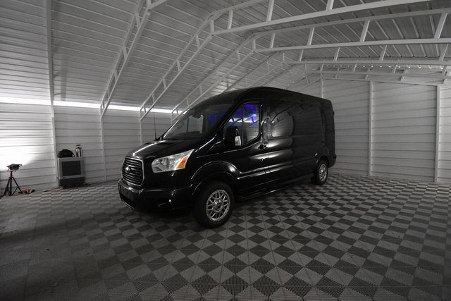 2018 Transit 250 Med Roof 4x2,  Passenger Wagon #RA75856 - photo 9