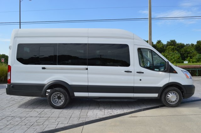 2017 Transit 350 HD High Roof DRW, Passenger Wagon #RB24950 - photo 3