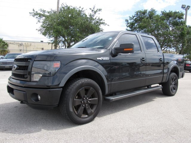 2013 F-150 SuperCrew Cab 4x4, Pickup #A43440 - photo 4
