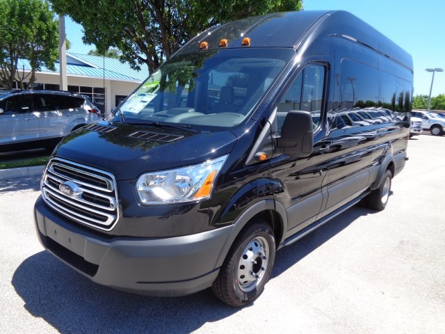 2018 Transit 350 HD High Roof DRW 4x2,  Passenger Wagon #RA94709 - photo 7