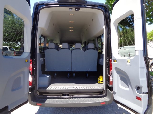2018 Transit 350 HD High Roof DRW 4x2,  Passenger Wagon #RA94709 - photo 9