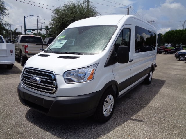 2018 Transit 350 Med Roof 4x2,  Passenger Wagon #RB27967 - photo 7