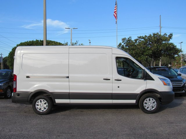 2018 Transit 150 Med Roof 4x2,  Empty Cargo Van #181645 - photo 3