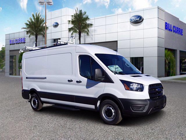 2020 Ford Transit 250 Med Roof 4x2, Masterack Upfitted Cargo Van #20F1066 - photo 1