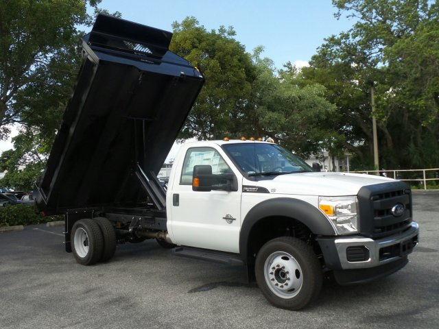 2016 F-450 Regular Cab DRW 4x4, Dump Body #GEB33437 - photo 25