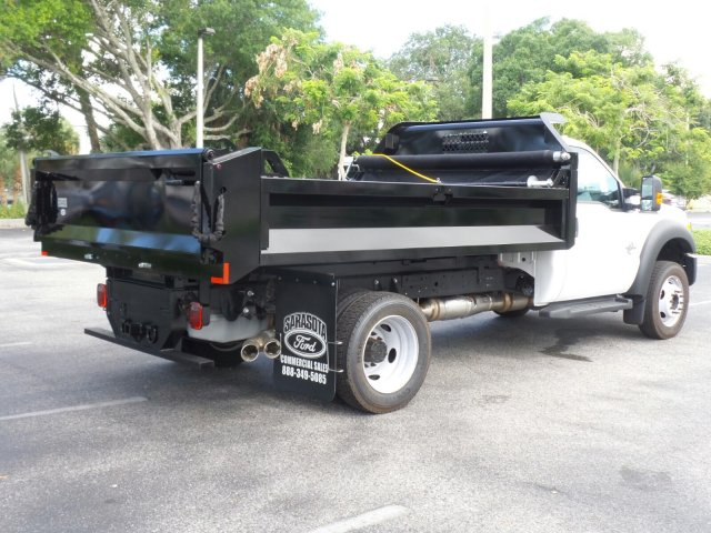 2016 F-450 Regular Cab DRW 4x4, Dump Body #GEB33437 - photo 2