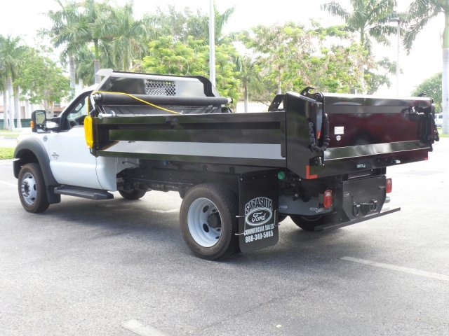 2016 F-450 Regular Cab DRW 4x4, Dump Body #GEB33437 - photo 5