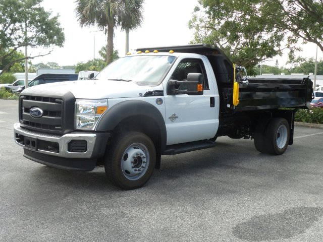 2016 F-450 Regular Cab DRW 4x4, Dump Body #GEB33437 - photo 7