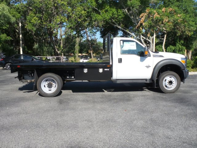 2016 F-550 Regular Cab DRW, Platform Body #GEB33440 - photo 3