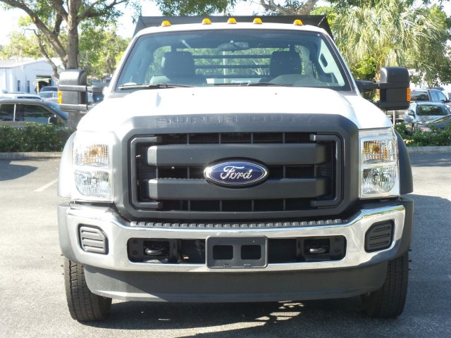 2016 F-550 Regular Cab DRW, Platform Body #GEB33440 - photo 8