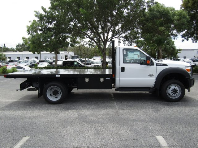 2016 F-450 Regular Cab DRW 4x4, Platform Body #GEC45553 - photo 4