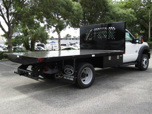 2016 F-450 Regular Cab DRW 4x4, Platform Body #GEC45553 - photo 3