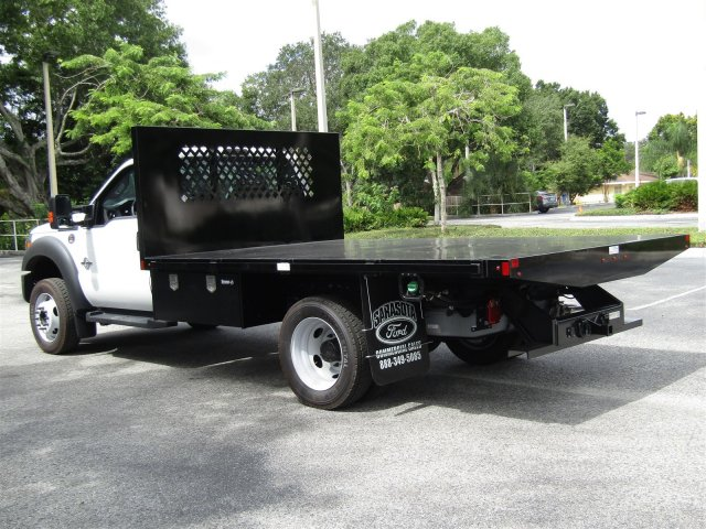 2016 F-450 Regular Cab DRW 4x4, Platform Body #GEC45553 - photo 2