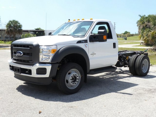 2016 F-450 Regular Cab DRW 4x4, Cab Chassis #GEC45555 - photo 5