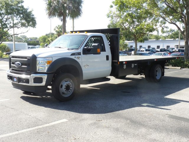 2016 F-550 Regular Cab DRW, Platform Body #GEC45560 - photo 7