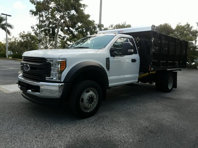 2017 F-450 Regular Cab DRW 4x4, Landscape Dump #HEC11106 - photo 10